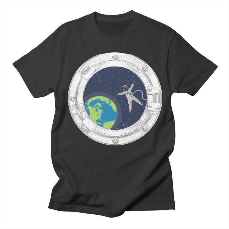 Spaceship Portal Men's T-Shirt by