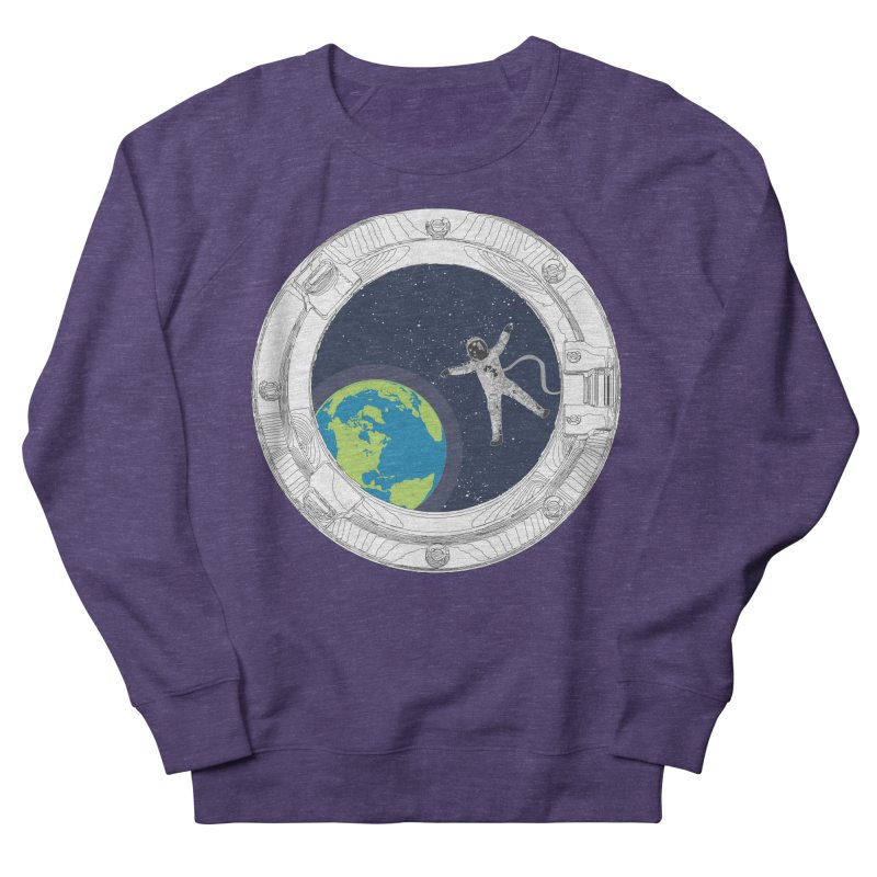 Spaceship Portal Women's French Terry Sweatshirt by