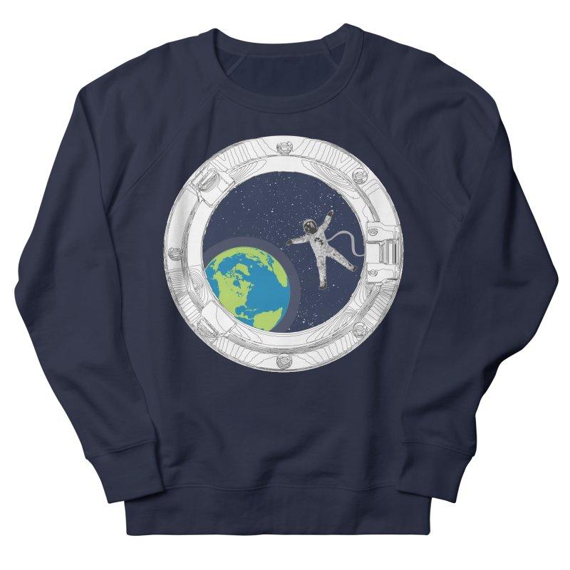 Spaceship Portal Women's French Terry Sweatshirt by