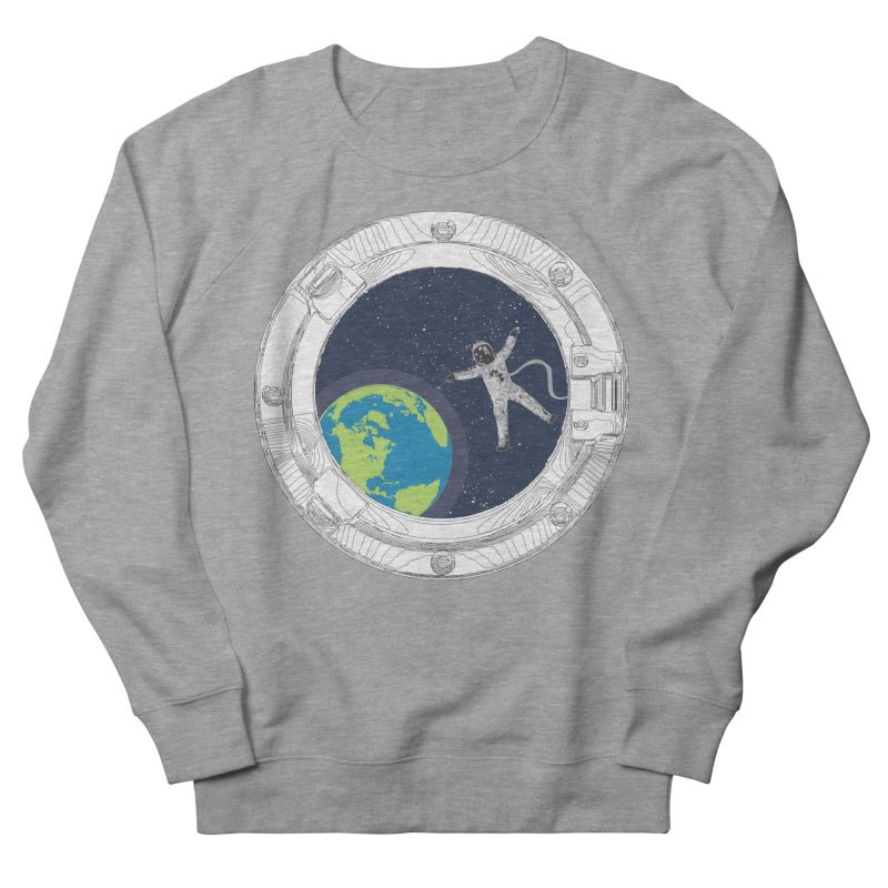 Spaceship Portal Men's French Terry Sweatshirt by