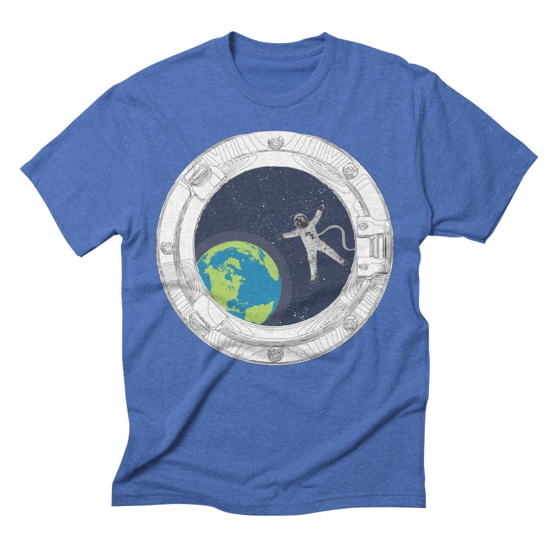 Spaceship Portal Men's Triblend T-Shirt by