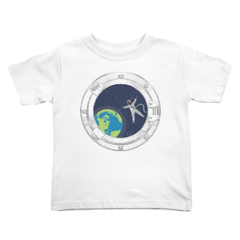 Spaceship Portal Kids Toddler T-Shirt by