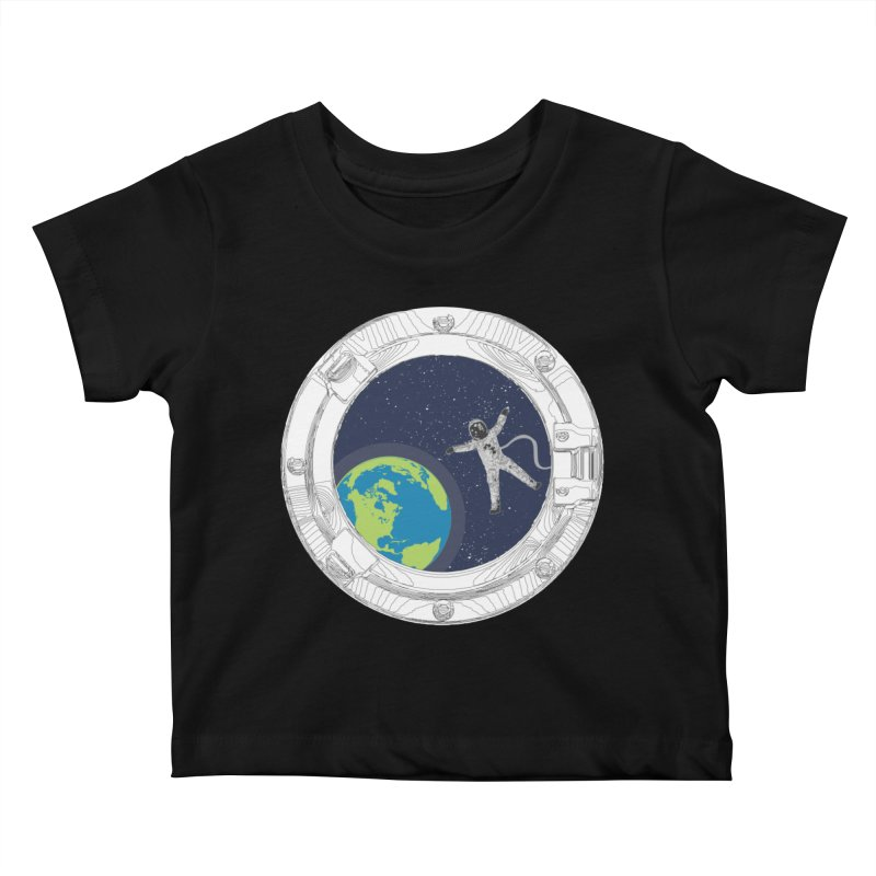 Spaceship Portal Kids Baby T-Shirt by
