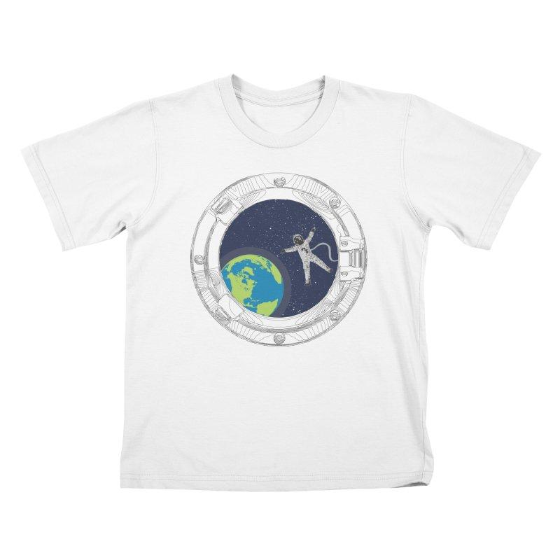Spaceship Portal Kids T-Shirt by