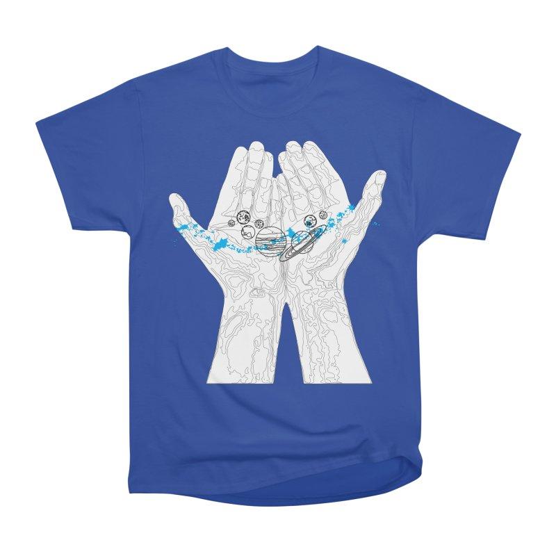 Universe Hands Women's Heavyweight Unisex T-Shirt by