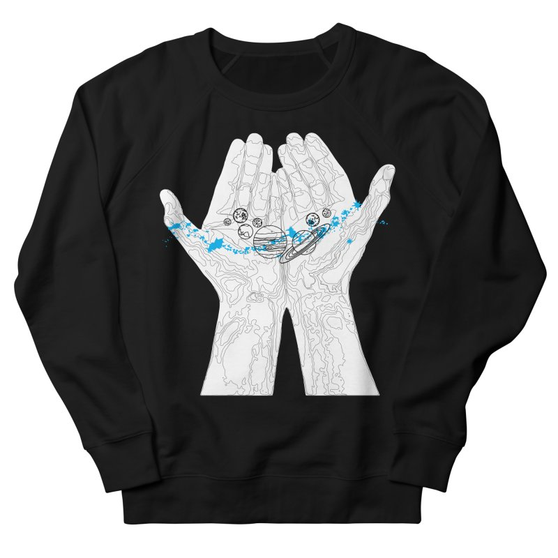 Universe Hands Women's French Terry Sweatshirt by