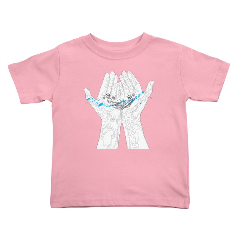 Universe Hands Kids Toddler T-Shirt by
