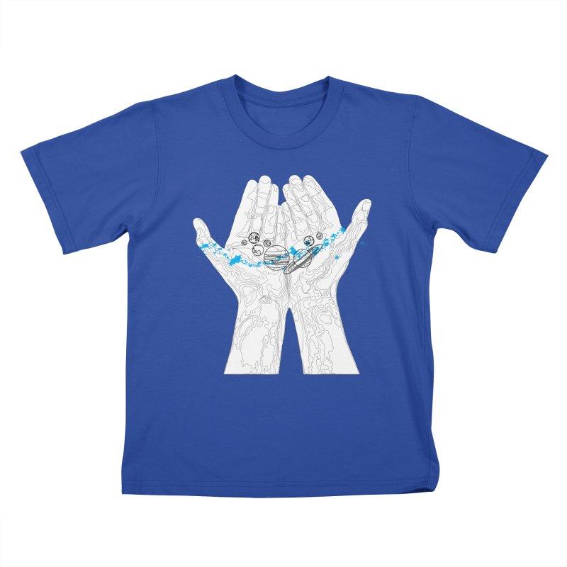 Universe Hands Kids T-Shirt by