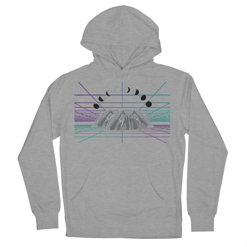 Wireframe World Men's French Terry Pullover Hoody by