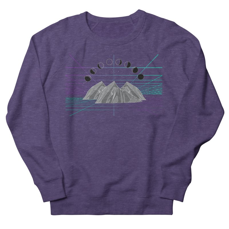 Wireframe World Men's French Terry Sweatshirt by