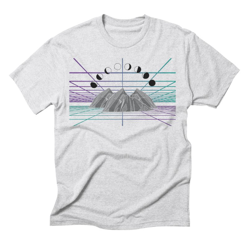 Wireframe World Men's Triblend T-Shirt by