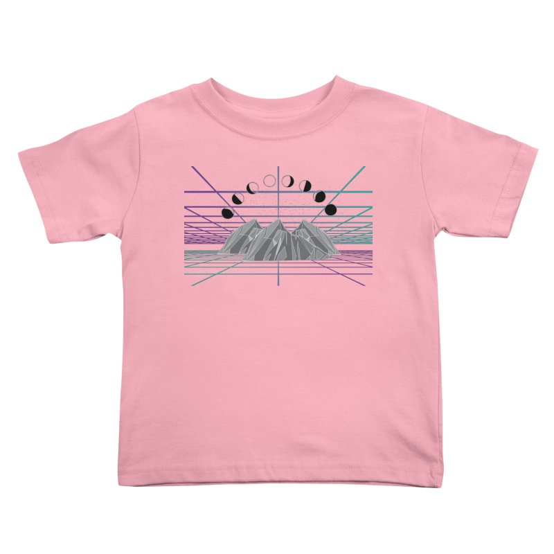 Wireframe World Kids Toddler T-Shirt by