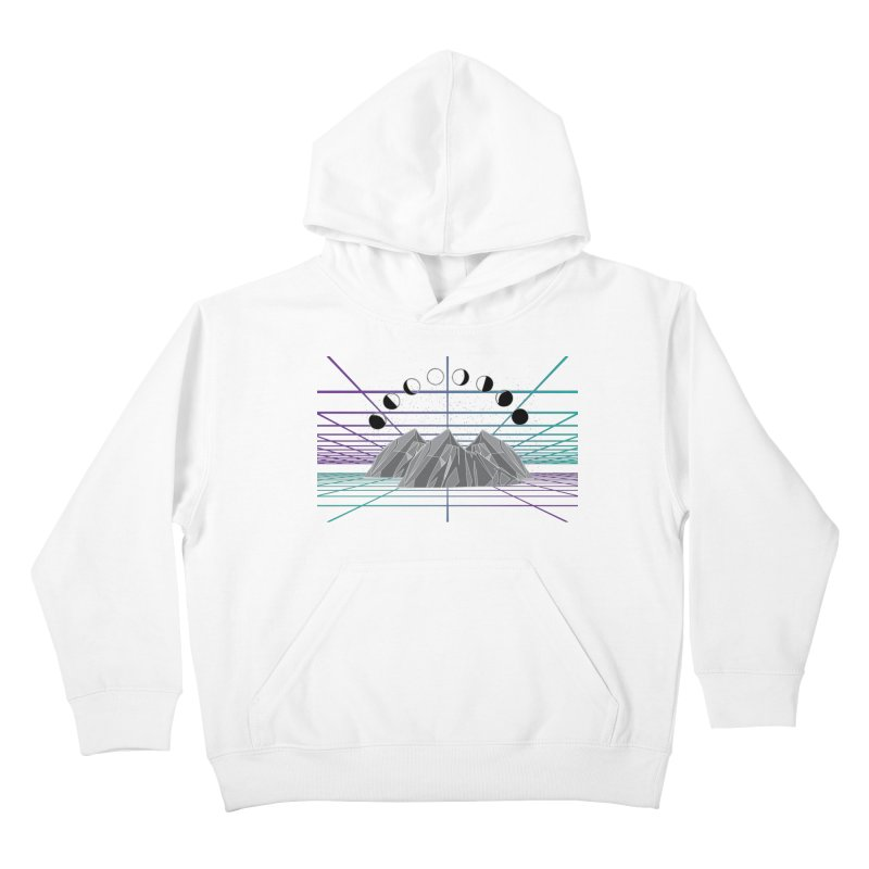 Wireframe World Kids Pullover Hoody by