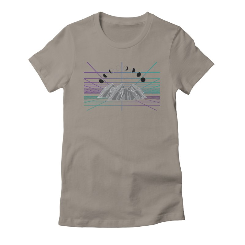 Wireframe World Women's Fitted T-Shirt by