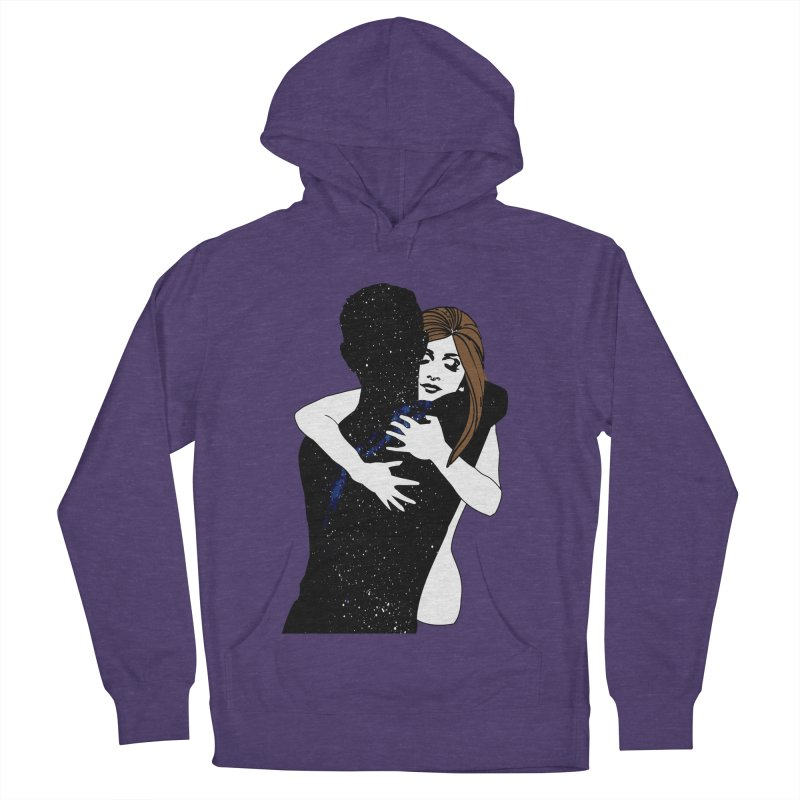 Galaxy Hug Women's French Terry Pullover Hoody by