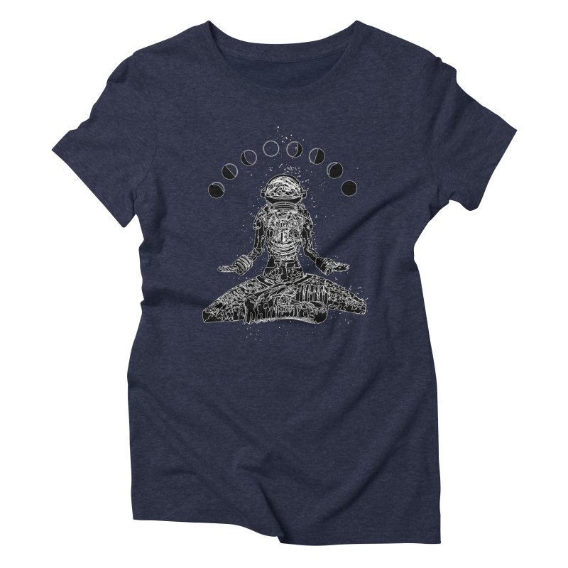 Space Meditate Women's Triblend T-Shirt by