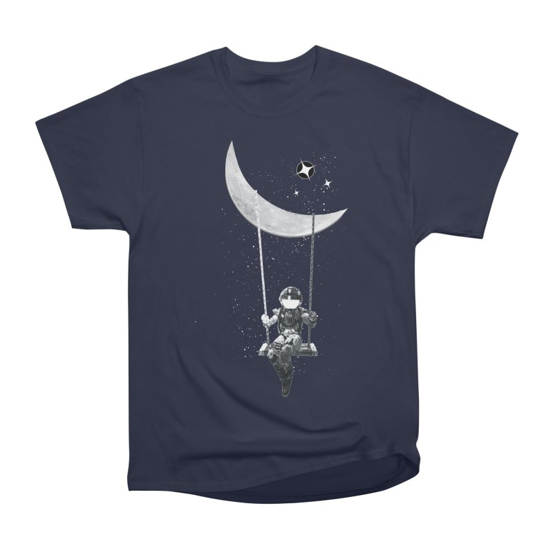 Star Swing Men's Heavyweight T-Shirt by