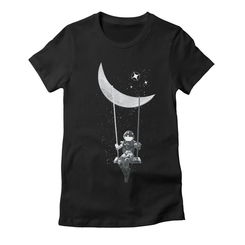 Star Swing Women's Fitted T-Shirt by