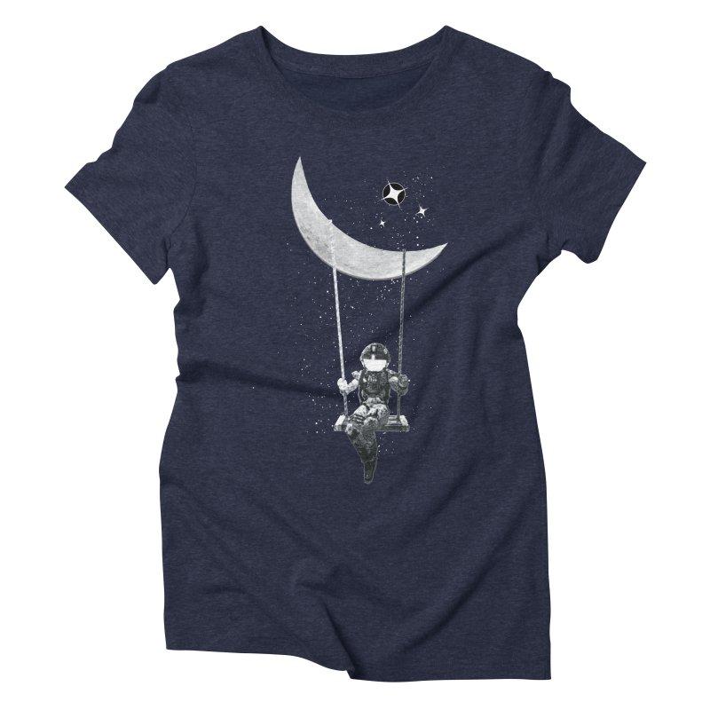 Star Swing Women's Triblend T-Shirt by