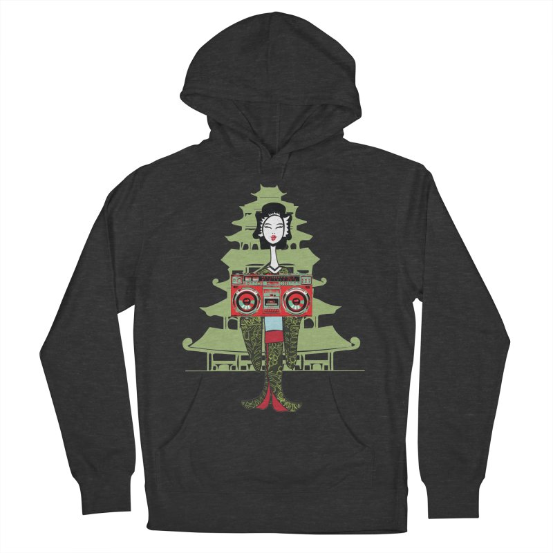 Boombox Geisha Women's French Terry Pullover Hoody by