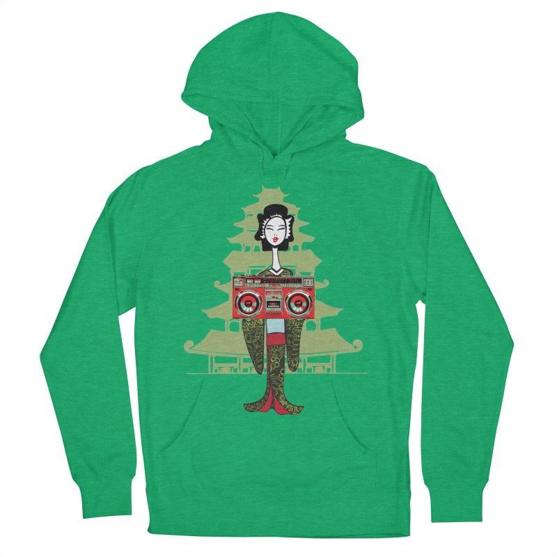 Boombox Geisha Men's Pullover Hoody by