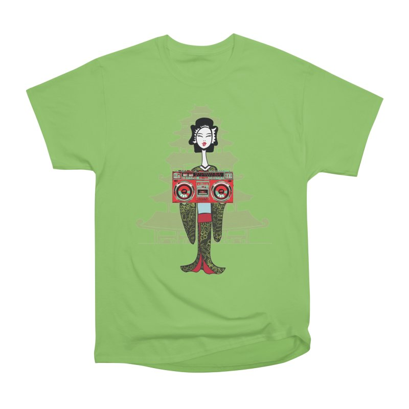 Boombox Geisha Men's Heavyweight T-Shirt by