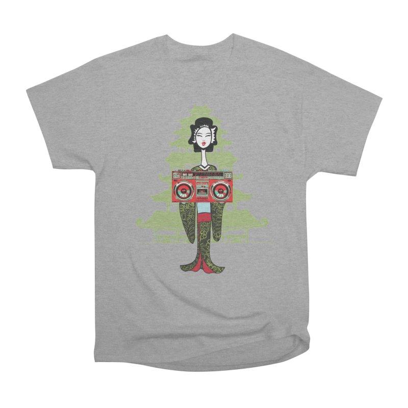 Boombox Geisha Women's Classic Unisex T-Shirt by