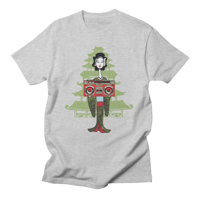 Boombox Geisha Men's T-Shirt by