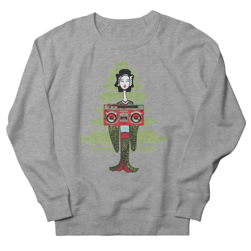 Boombox Geisha Women's French Terry Sweatshirt by