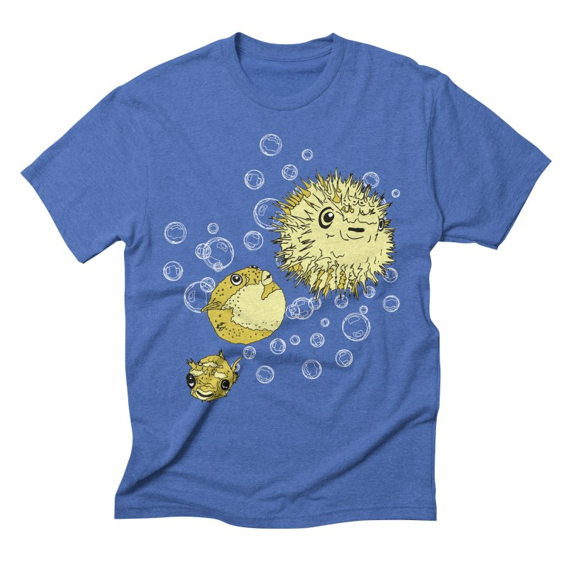 Puffer Attack Men's Triblend T-Shirt by