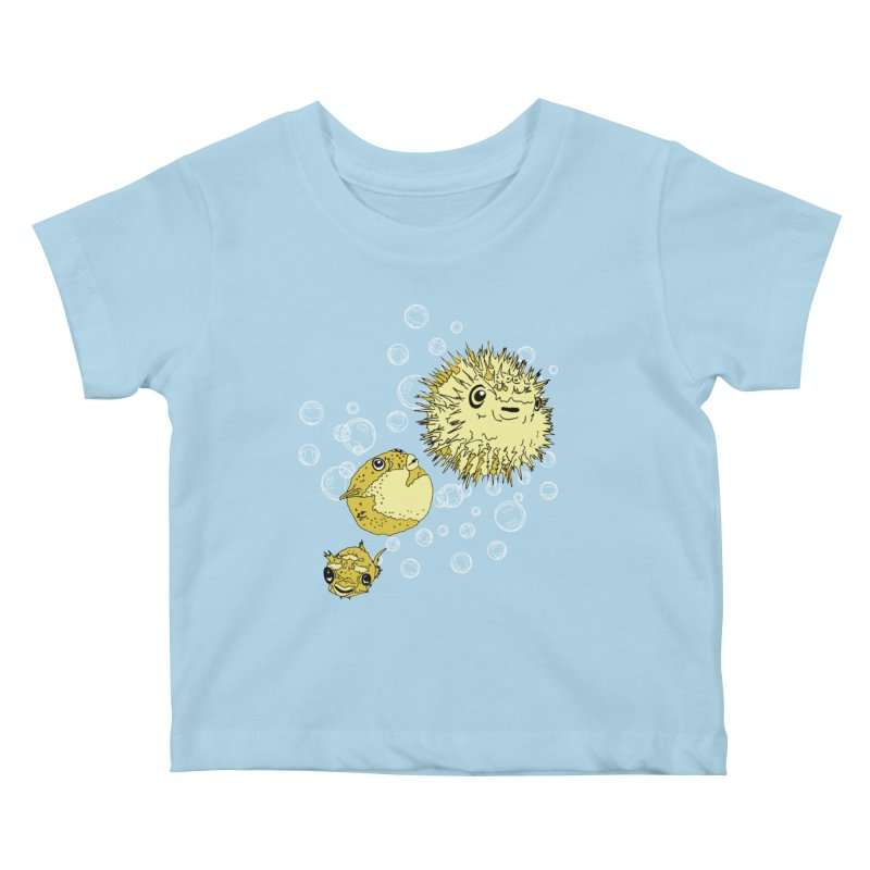 Puffer Attack Kids Baby T-Shirt by