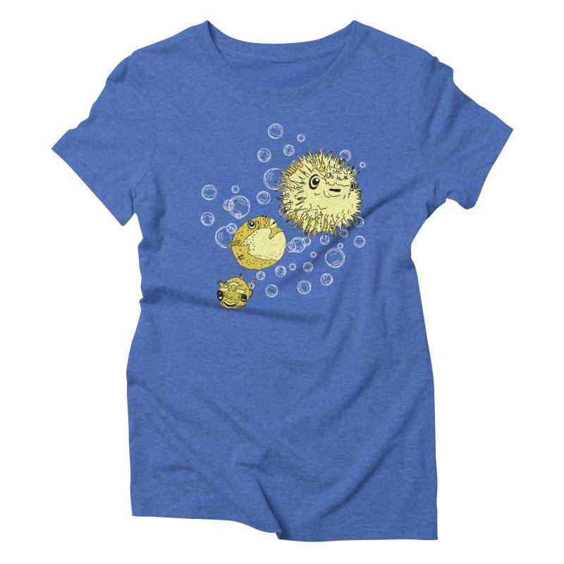 Puffer Attack Women's Triblend T-Shirt by