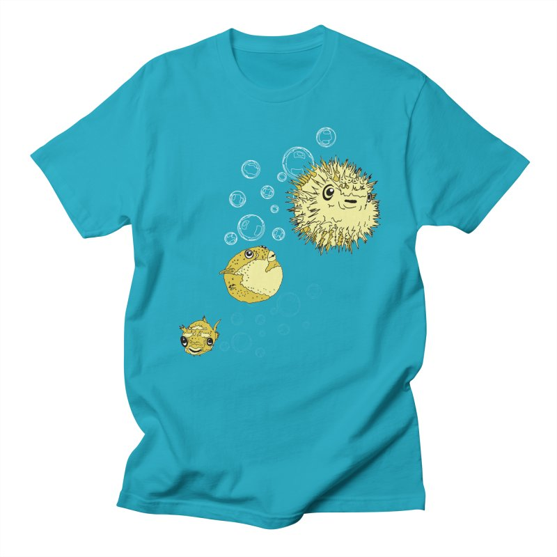 Puffer Attack Men's T-Shirt by