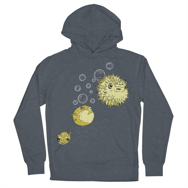 Puffer Attack Men's French Terry Pullover Hoody by