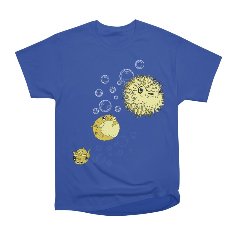 Puffer Attack Men's Heavyweight T-Shirt by