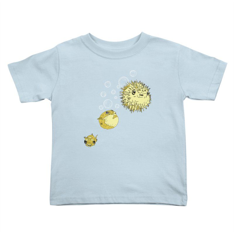Puffer Attack Kids Toddler T-Shirt by