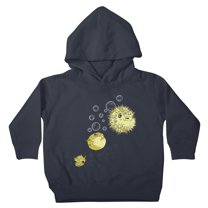 Puffer Attack Kids Toddler Pullover Hoody by
