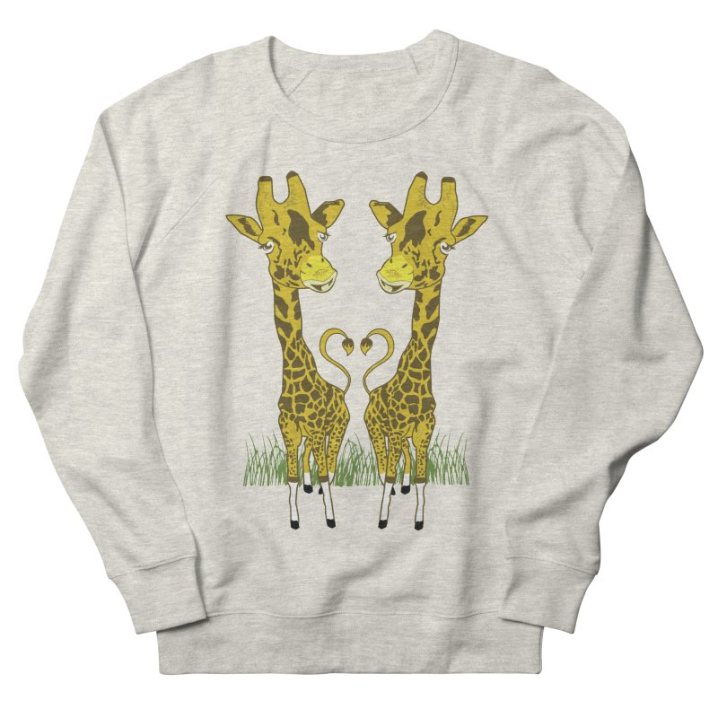Giraffe Love Women's French Terry Sweatshirt by