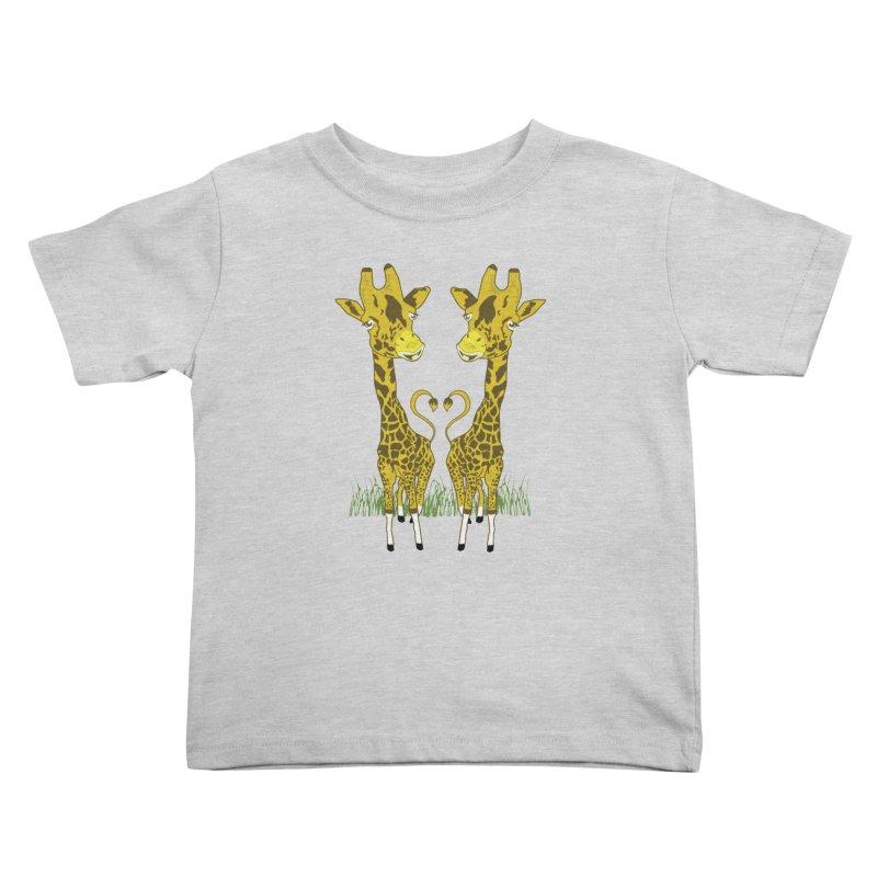 Giraffe Love Kids Toddler T-Shirt by