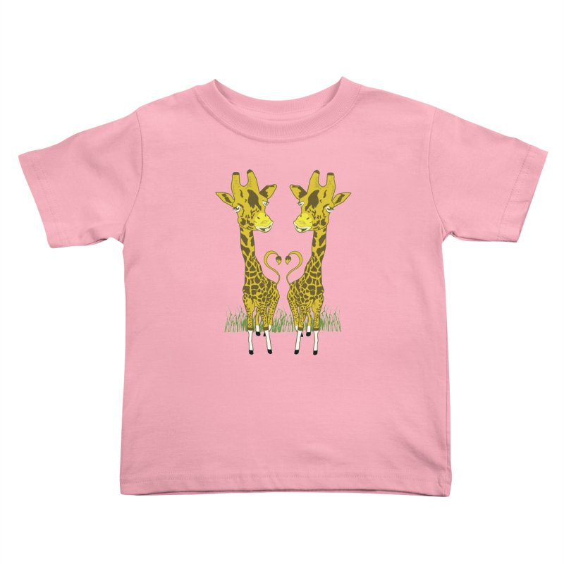 Giraffe Love Kids Toddler T-Shirt by