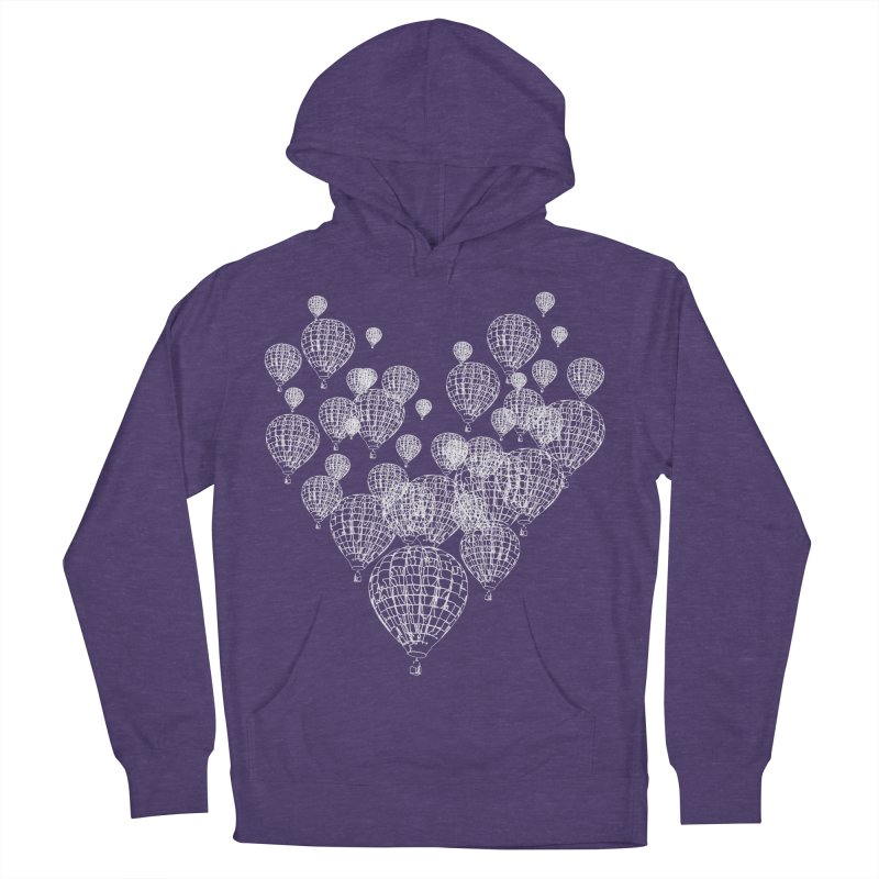 Heart Balloons Women's Pullover Hoody by