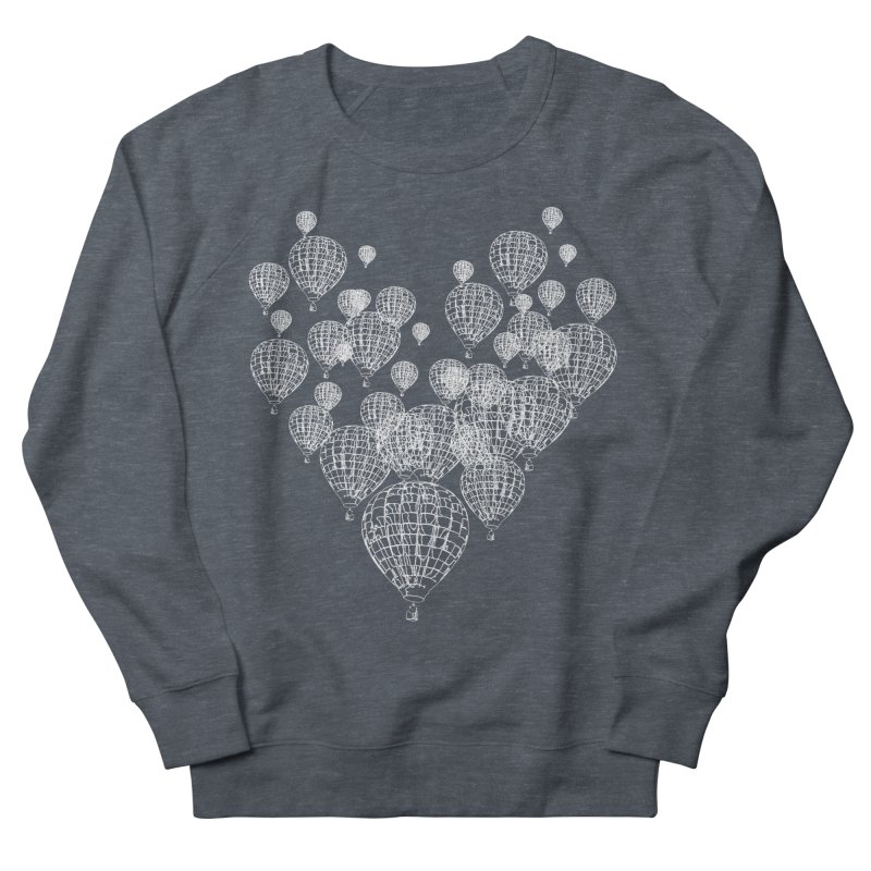 Heart Balloons Women's French Terry Sweatshirt by
