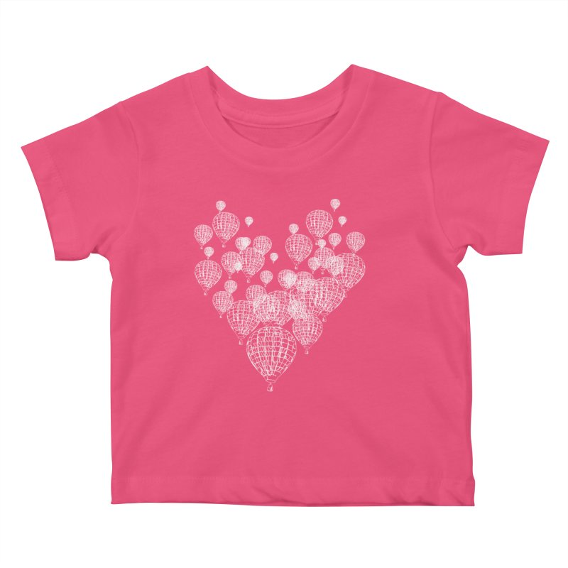 Heart Balloons Kids Baby T-Shirt by