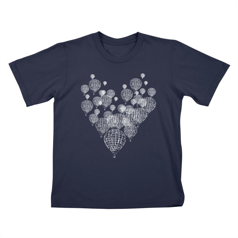 Heart Balloons Kids T-Shirt by