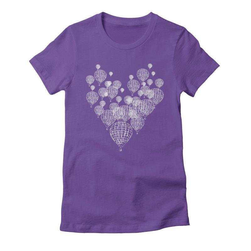 Heart Balloons Women's T-Shirt by