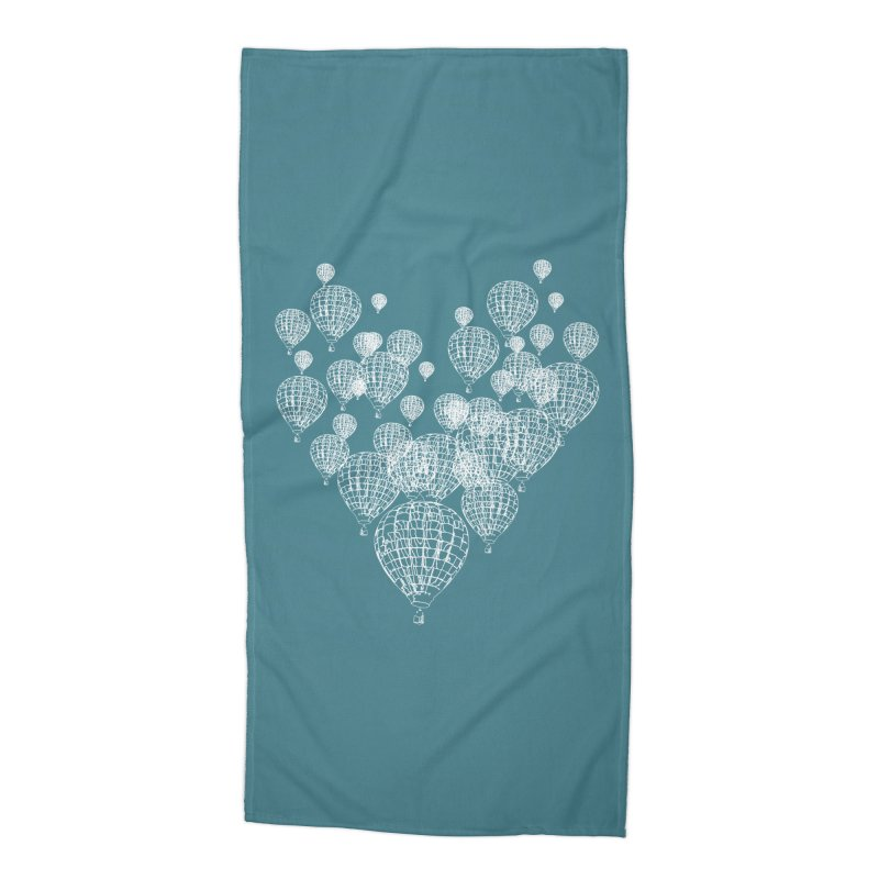 Heart Balloons Accessories Beach Towel by