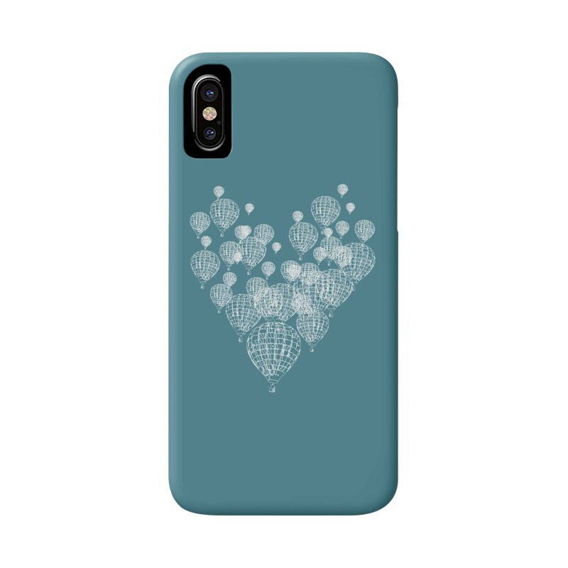 Heart Balloons Accessories Phone Case by