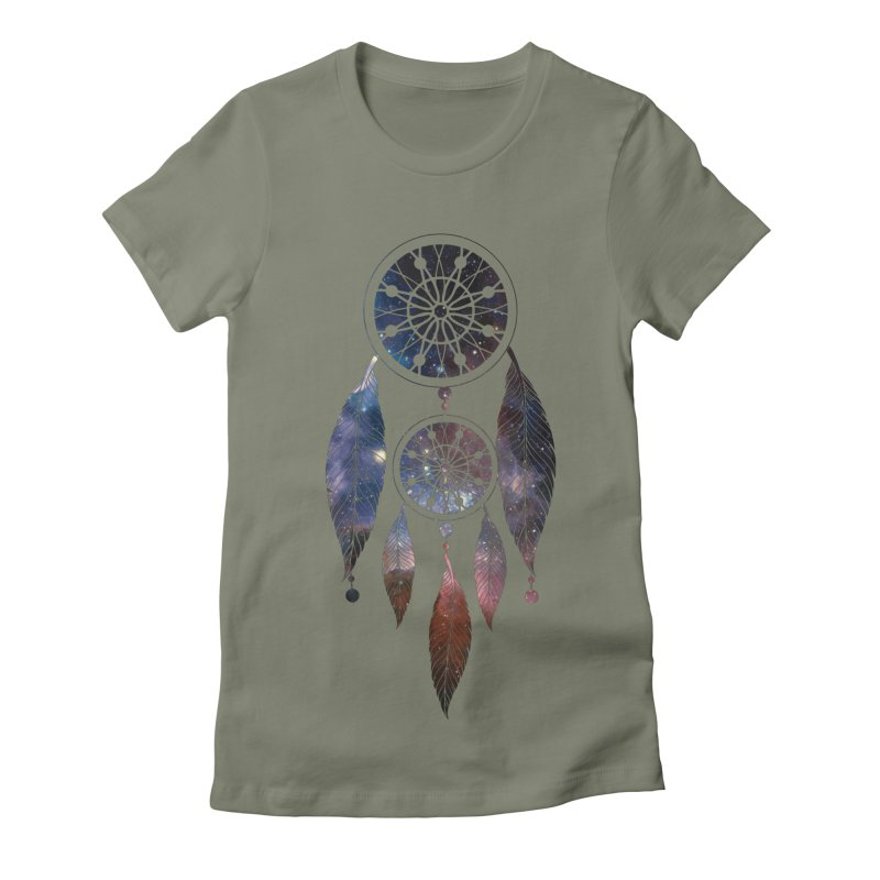 Dreamcatcher Women's Fitted T-Shirt by