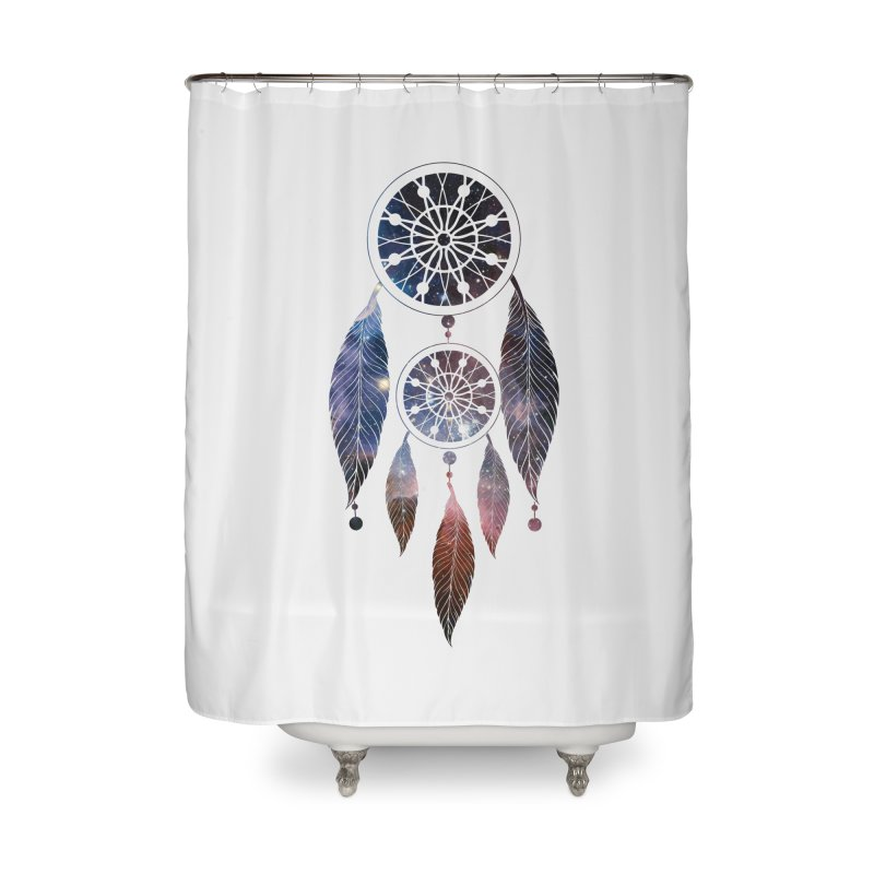 Dreamcatcher Home Shower Curtain by