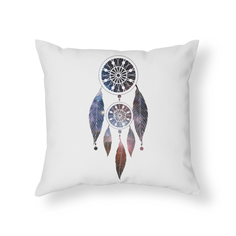 Dreamcatcher Home Throw Pillow by
